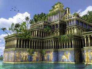 Babilono kabantys sodai